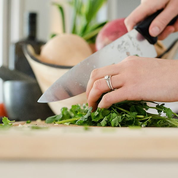 Carer Wellbeing. Preparing a healthy, well-balanced meal