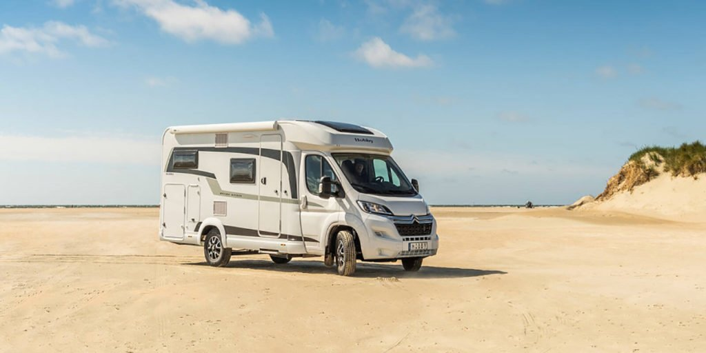 E S Hartley Motorhome - possible prize in the win a luxury motorhome competition
