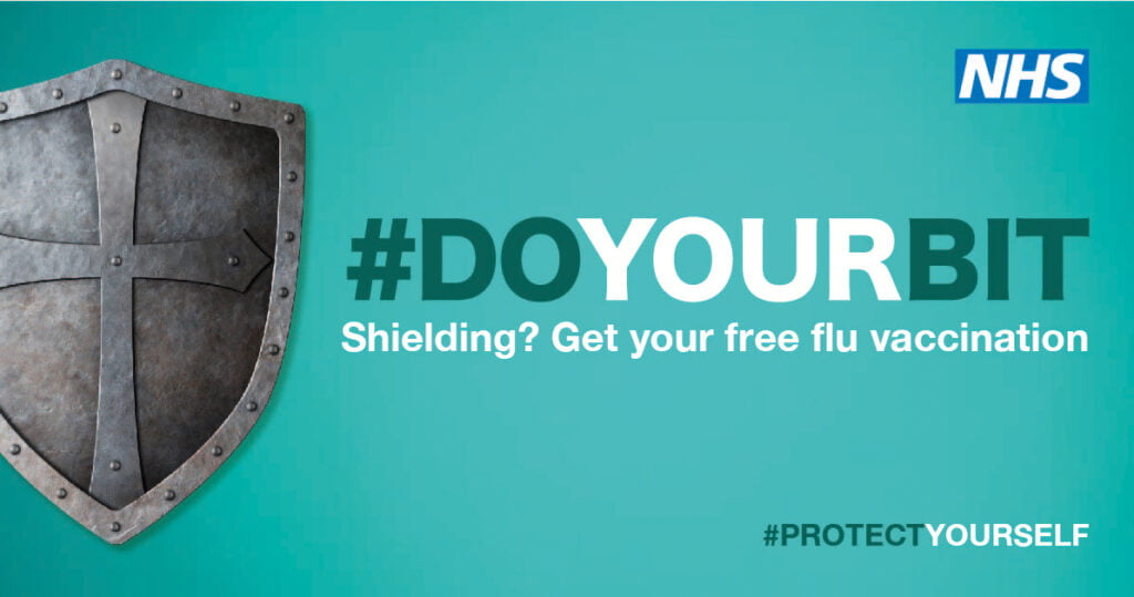 Shielding? Get your free flu vaccination