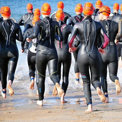Fundraising for Carer Support South Lakes idea - swimming race