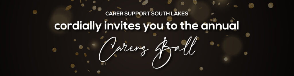Fundraising event Carers Ball header